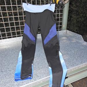 Victoria's Secret Ultimate Blue Black Leggings Sm